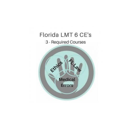 Cheap Florida LMT Massage CE Law-Ethics-Medical Errors