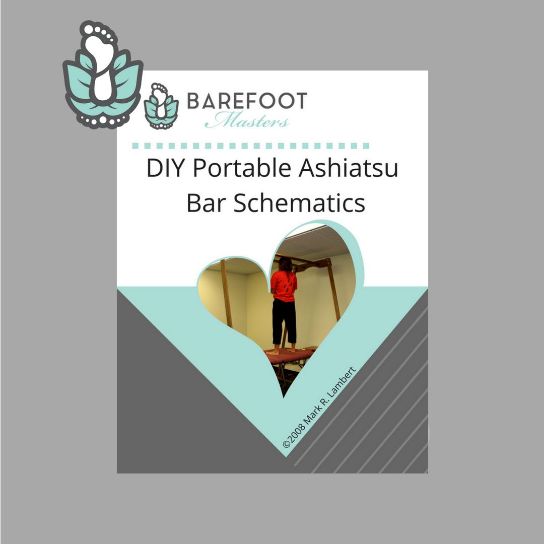 Ashiatsu bars portable instructions diy the barefoot masters ashiatsu portable bars malvernweather Image collections