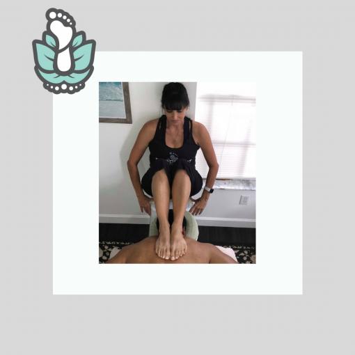 Ashiatsu Intro Seated Barefoot Massage Online