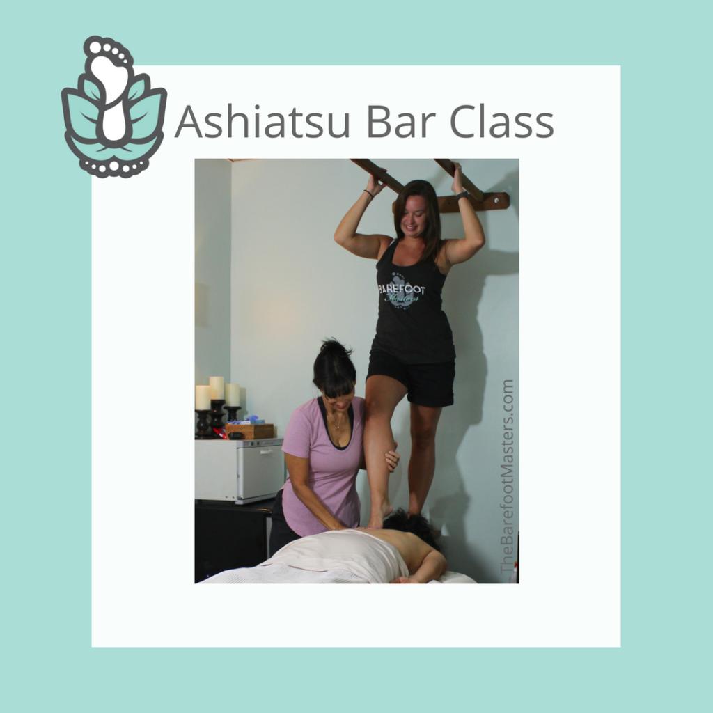 New London WI Ashiatsu Bar Massage Training Class 4-21-18