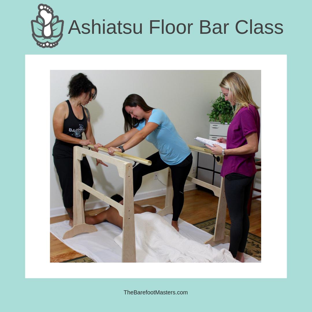 El Paso Tx Ashiatsu Floor Bar Massage Training Class