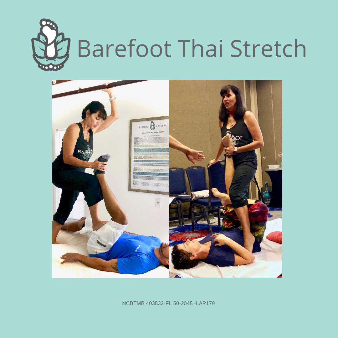 Naples FL Barefoot Thai Stretch Massage Training Class