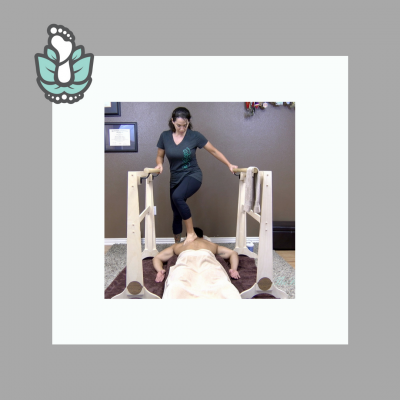 Ashiatsu Floor Bar Massage Online Home Study