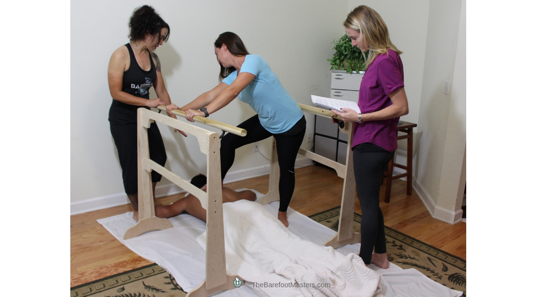 Portable Ashiatsu Bar Mobile Massage