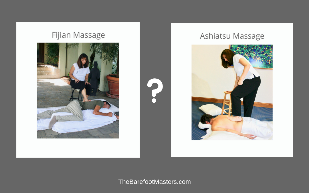Ashiatsu Massage or Fijian Barefoot? What's the Difference?