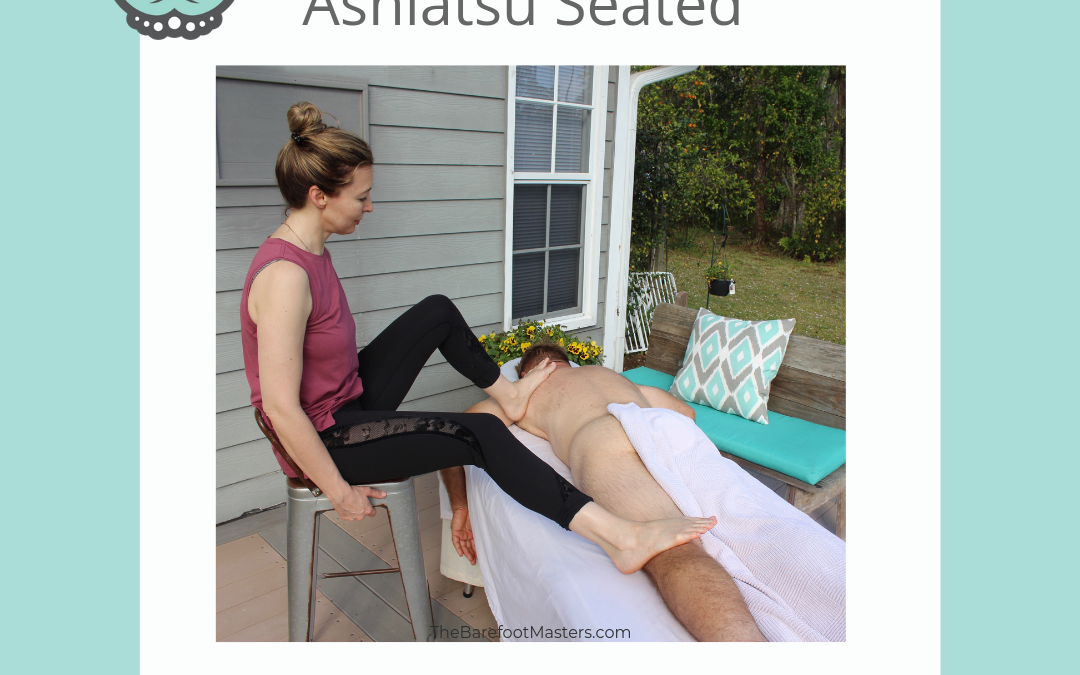 Seattle WA Ashiatsu Barefoot Seated Massage CE Training Class