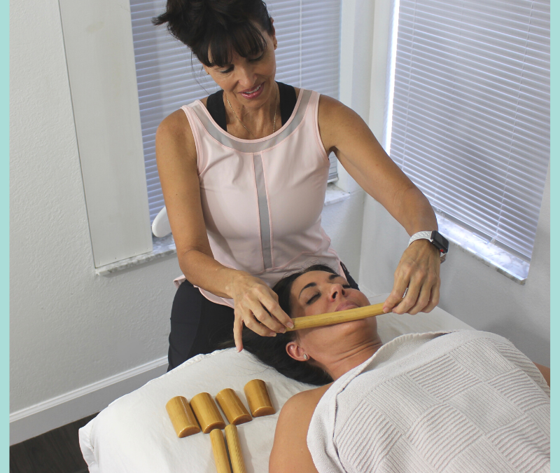 Bamboo Massage Facial Online CE Training w/7pc Toolset